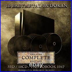 10 BABYMETAL BUDOKAN THE ONE COMPLETE EDITION Su Moa From JP