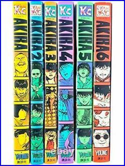 AKIRA Japanese version Manga Comic Vol. 1-6 complete set from Japan
