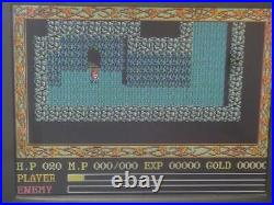 Ancient Ys II Vanished PC-8801SR 5'-2D Falcom Boxed Complete NTSC-J from Japan