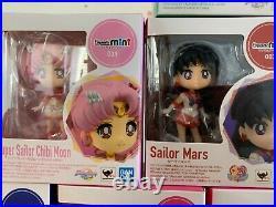 BANDAI SPIRITS Figuarts mini Pretty Guardian Sailor Moon Complete Set From Japan