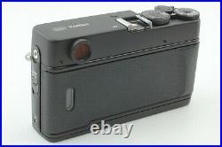 BOXEDCOMPLETE UNUSEDKonica Hexar RF 35mm Rangefinder BLACK Camera from JAPAN