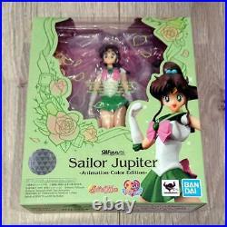 Bandai S. H. Figuarts Sailor Moon Venus Mercury Mars Jupiter 5 Piece complete 8