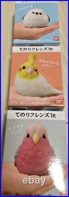 Bandai Tenori Friends 12 Birds small figure complete set from Japan