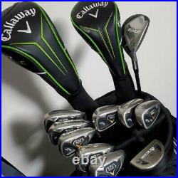 CALLAWAY set of golf clubs collection complete shippingfree excellent from japan
