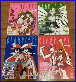 CLAMP No kiseki chess figure board storage BOX Booklet complete set From Japan