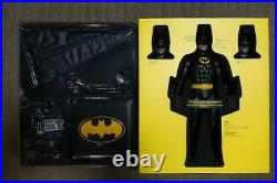 Complete Box Hot Toys Movie masterpiece Batman DX09 1/6 Figure 1989 from Japan