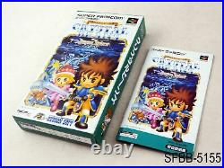 Complete Crystal Beans from Dungeon Explorer Super Famicom Japanese Import SFC B