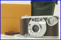 Complete Set! UNUSED Minolta Prod 20's Point & Shoot Film Camera from JAPAN