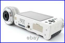 Complete kit! PENTAX Q 12.4MP White/Black +01 prime Lens from JP Exc #656100