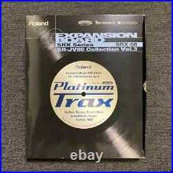 Complete set! Roland SRX-08 Platinum Trax Expansion Board Exc From Japan