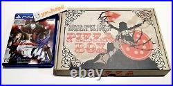 DEVIL MAY CRY 4 Special Edit PIZZA BOX Art Book Complete Set PS4 CAPCOM From JP