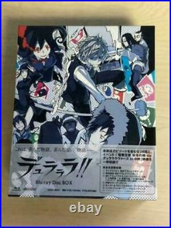 DURARARA! Blu-ray DISC BOX complete limited From Japan