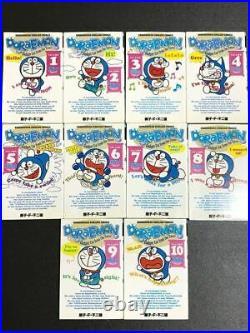 Doraemon English 1-10 All complete set Comic Used Manga Fujio Fujiko From Japan