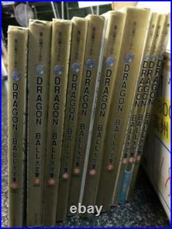 Dragon Ball Complete Illustrations Akira Toriyama World 1-10set books from Japan