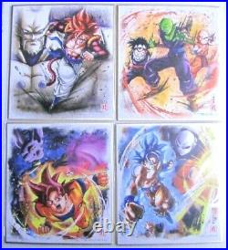 Dragon Ball Shikishi ART part9 Complete set 16pcs + secret shikishi from japan