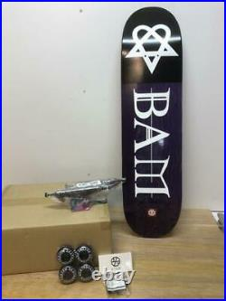 Element skateboard deck Bam Margera 8 inch complete unused imported from Japan