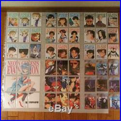 Evangelion Carddass Masters 1 & 2 Complete Cards from JAPAN