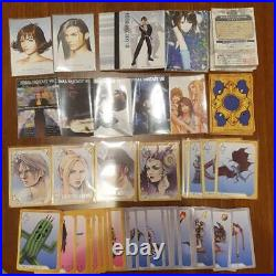 Final Fantasy VIII 8 Card Dust Masters Triple Triad Rare Not complete From JAPAN