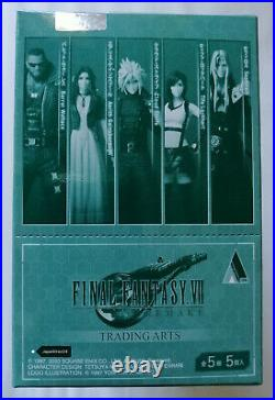 Final Fantasy VII FF7 Remake Trading Arts Complete Set of 5 in Box from Japan