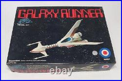 Galaxy Runner Message From Space Model Kit Entex 1978 Complete Open Box Sci Fi