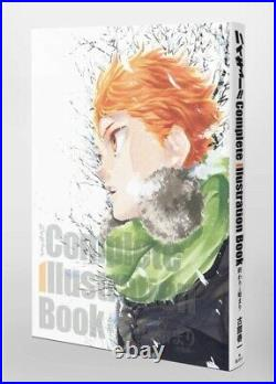 Haikyu! Complete Illustration Book Art Book Haruichi Hurudate from Japan