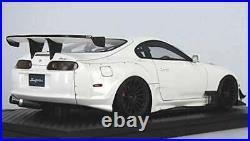 Ignition Model 1/18 Toyota Supra (JZA80) RZ White Completed Product From Japan