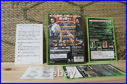 In Stock METAL WOLF CHAOS Complete Set XBOX Japan From Software VG+ withtracking