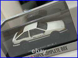 Initial D SUPER COMPLETE BOX First Press Limited DVD CD 22-disc set from Japan