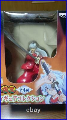 Inuyasha Figure Collection All 4 Types Complete Set BANPRESTO From Japan NEW