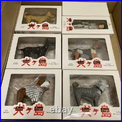Isle of Dogs Movie Figure 6pcs Complete Set Wes Anderson From Japan USED