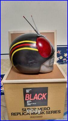 Kaiyodo Kamen Rider Black PCV Mask 1/1 Complete Model from JAPAN F/S
