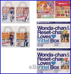 Kaiyodo Wanda chan & Reset chan Figure Complete From Japan