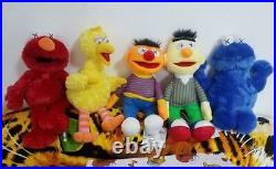 Kaws Sesame Street X UNIQLO COMPLETE ALL 5 Plush Dolls Stuffed Toy from Japan