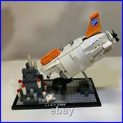 Kuso Shinkai 6500 21100 1/60 Scale 413 Pieces Rare Lego From Japan USED