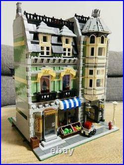 LEGO10185 Creator Expert Green Grocer Complete Very Clean from Japan