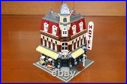 LEGO 10182 CAFE CORNER Complete Set with Manual & Box USED RARE from Japan