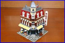 LEGO 10182 Café Corner Modular Building Series 100% Complete RARE from Japan