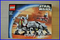 Lego 4482 Star Wars AT-TE Retired 2003 Complete Minifigs Manual NEW From Japan