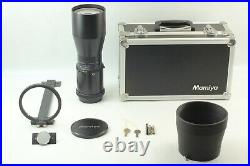 MINT in CASE Complete Kit Mamiya Sekor Z 500mm f/8 W Lens For 67 from JAPAN
