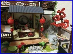 Miniature Doll house kit completed from Japan Free shipping