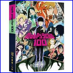 Mob Psycho 100 The Complete Series (Blu-ray/DVD, 2017, 4-Disc Set) FROM JAPAN