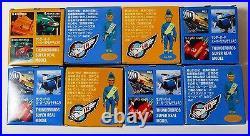 Morinaga Thunderbirds Complete set of 8 including rare Zero X BNIB from Japan