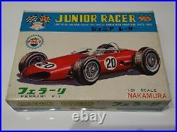 NAKAMURA Ferrari F1 Slot Car KIT + Mabuchi FT16 complete sealed from 60´s JAPAN