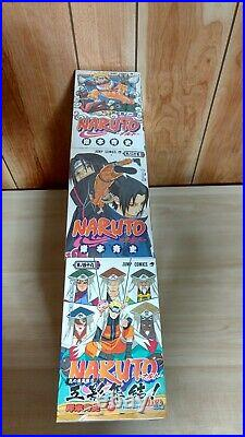 NARUTO Japanese version Manga Comic Vol. 1-72 complete set from Japan