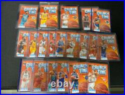 NBA Card Donruss Crunch Time Complete Set Basketball Card shipping from japan