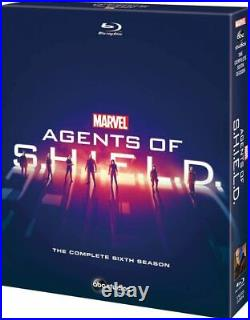 NEW Agent Of Shield Season 6 Complete Box Blu-Ray from Japan