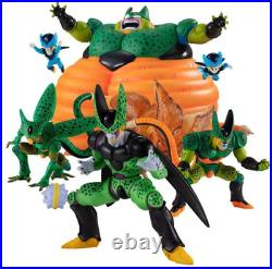 NEW Dragonball HG figure Cell perfect complete BANDAI From Japan FedEx ship