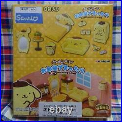 NEW sanrio re-ment pompom purin minifigure 8 types complete bulk From Japan