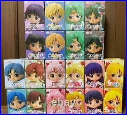 New Sailor Moon qposket full complete set SailorMon figures from JAPAN