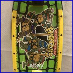 Ninja Turtle Vintage Skateboarding Complete Collector Deck From Japan